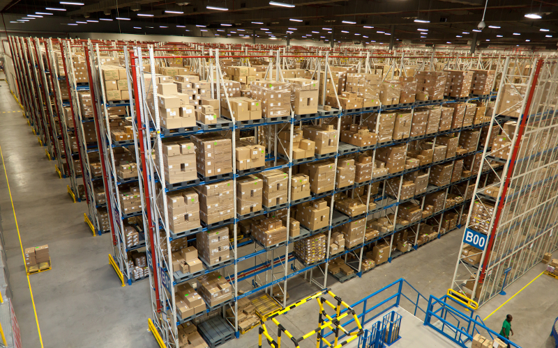 Modern warehousing distribution analysis